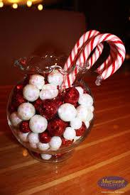 candy cane christmas centerpiece centerpieces pinterest