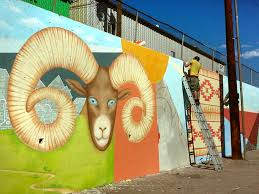Wall Mural Shining Through The Wall Murals Denver Muralist And Decorative Painter