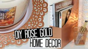 diy copper rose gold decor ideas youtube