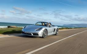 teal porsche 2017 porsche 718 boxster more power fewer thrills the car guide