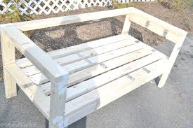 Bench Made From 2x4 Easiest 2x4 Bench Plans Ever I Am A Homemaker