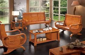 Wooden Sofa Furniture Living Room Solid Wood Living Room Furniture Stylish On Living