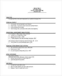 student entry level resume sample entry level resume 9 examples in word pdf
