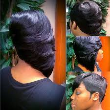 27 piece black hair style short hairstyles how to do a 27 piece quick weave short hairstyle