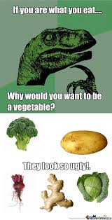 Vegetable Meme - i would rather not be a vegetable thank you by w1ldch1ld meme