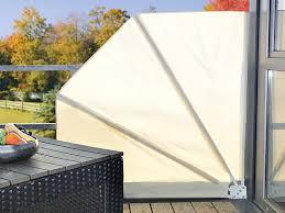 balkon abdeckung royal gardineer balkon sichtschutz fächer 160 x 140 cm beige
