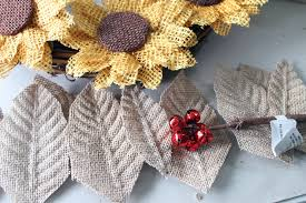 burlap sunflower wreath sunflower wreath diy step by step tutorial consumer crafts