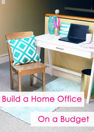 home necessities how i created a home office on a budget