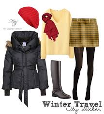 winter travel what should i wear dressing for winter when you