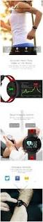 lemfo t1 dm58bluetooth sports rate smart band with blood