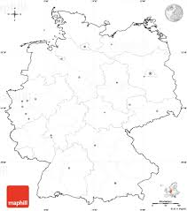 German States Map by Blank Simple Map Of Germany Cropped Outside No Labels Jpg 850 966