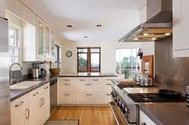 Galley Kitchen Lighting Ideas Kitchen Style Light Blue Coastal Style Galley Kitchens Light Blue