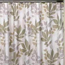 Creative Bath Shadow Leaves 72 in Botanically Themed Shower Curtain