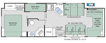 the new 2015 challenger class a motorhomes 37tb floor plan with