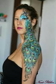 297 best face paint birds u0026 feather ideas images on pinterest