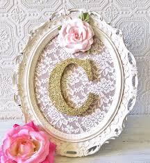 baby nursery decor nursery letters letter frame pink