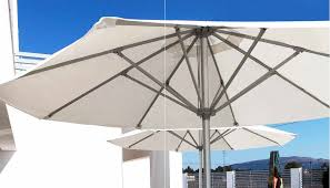 Aluminum Patio Umbrellas by Commercial Patio Umbrella For Hotels Stainless Steel