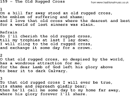 The Old Rugged Cross Music At The Old Rugged Cross Lyrics Roselawnlutheran