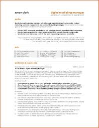 Sample Resume Format For Kpo Jobs by Digital Marketing Resume For Fresher Virtren Com