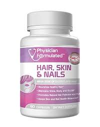 physician formulated healthy hair skin and nails vitamins for men
