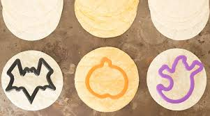 halloween cookie cutters halloween tortilla chip trio recipe cooking with janica