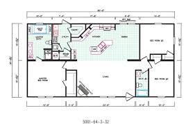 3 Bedroom Trailer Floor Plans by 3 Bedroom Floor Plan F 5001 Hawks Homes Manufactured