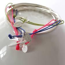 bracelet cord images Silver smile cord bracelet by little object jpg