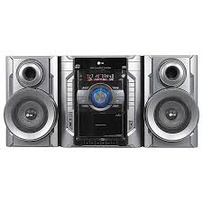 lg audio mini system with 3 cd changer and ipod connection mcd23
