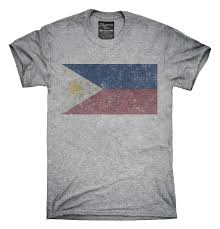 Philippines Flag Retro Vintage Philippines Flag T Shirt Hoodie Tank Top U2013 Chummy Tees