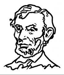 lincoln coloring pages presidents day coloring pages kids world