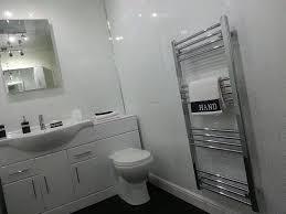 Bathroom Ceiling Cladding Pvc Panels 5 White Sparkle Diamond Effect Pvc Bathroom Cladding Shower Wall
