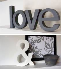 Letters For Home Decor Decoration Letters Home Home Decor