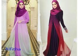 desain baju gamis hamil aneka variasi model baju muslim pesta butik jahit pesan jual