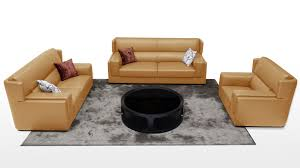leather livingroom set modern leather sofas contemporary living room furniture zuri