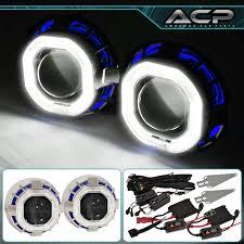lexus xenon headlights for toyota scion headlight retrofit projector dual ccfl halo ring