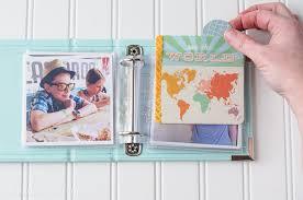 4x4 photo album instagram photo album a mini scrapbook on polkadotchair