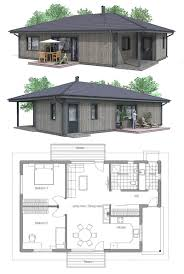 small house floor plans with porches flip bedroom and bath locations so bedrooms are separated convert