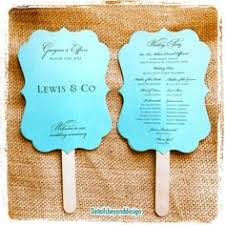 sided wedding programs wedding fan program template printable blue fan program