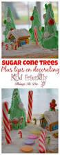 sugar cone christmas tree craft kid friendly things to do com