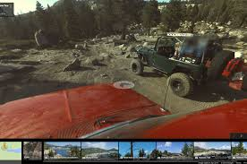 rubicon trail google street view adds the wild and rocky rubicon trail
