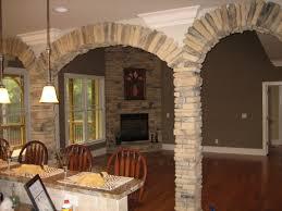 Interior Stone Arches Kitchens