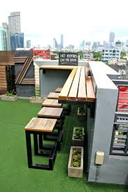 patio ideas roofdeck bar at the z where to stay in manila z