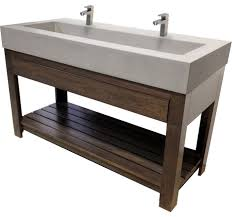 large industrial trough sinks long with one sink bathroom vanities