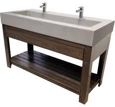 Kohler Trough Sink Bathroom Large Industrial Trough Sinks Long With One Sink Bathroom Vanities