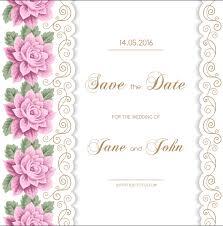 best of wedding invitation card vector wedding invitation design