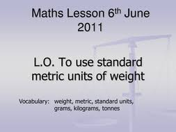 weight ppt by sophiehunter teaching resources tes