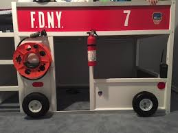 Fire Engine Bed Appealing Fire Engine Loft Bed And Fire Engine Bunk Bed Fire Truck