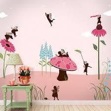 28 girls wall mural baby room wall murals nursery wall girls wall mural fairy wall mural stencil kit girls room or baby nursery