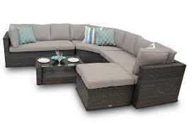 rattan corner sofa corner sofa set new brantwood back 5 brown