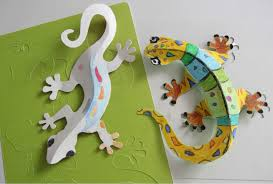 Paper Crafts - diy paper crafts decoration colorful wallizards dma homes